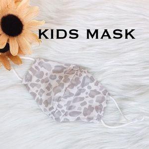 1/$13❗️2/$24❗️3/$33‼️KIDS LEOPARD FACE MASK - mask